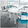 BN CX 3200 Conference Table Arrangement 5 To Seat 9 People