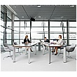 BN CX 3200 Conference Table Arrangement 7 To Seat 12 People