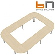 BN CX 3200 Conference Table Arrangement 14 To Seat 16 People