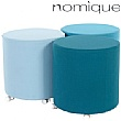 Nomique Chicago Round Mobile Stool