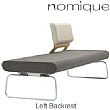 Nomique Infinity Modular 3 Seat Reception Bench With Custom Backrest