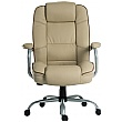 Goliath Duo Bariatric 24 Hour 25 Stone Cream Leather Faced Manager Chair