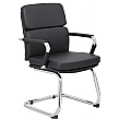 Ava Vistor / Boardroom Chair - Black