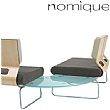 Nomique Infinity Modular 90 Degree Glass Connecting Tables