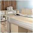 Elite Desk High Sliding Door Storage Units
