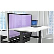 Accolade Sit-Stand Back to Back Acrylic Desktop Screens
