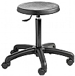 Industrial Poly Stool With Castors