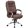 Verona Brown Executive Leather Office Chair