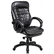 Como Executive Leather Office Chairs