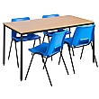 NEXT DAY Flexi Rectangular Canteen Tables