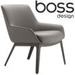 Boss Design Marnie Medium Back Lounge Chair