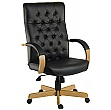 Warwick Noir Traditional Manager chair