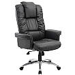 Athens Executive Leather Faced Office Armchair