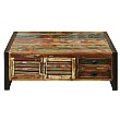 Accrington Reclaimed Wood Large Coffee Table