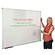 Write-On Ultra-Smooth Laminate Whiteboards