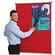 Resist-a-Flame Aluminium Framed Shield Noticeboard