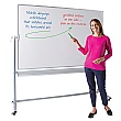 Write-On Economy Revolving Whiteboard