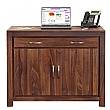 Fernhurst Solid Walnut Hidden Home Office Desk