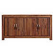 Fernhurst Solid Walnut Large Low Sideboard