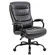 Citadel Bariatric 27 Stone 24 Hour Leather Manager Chair