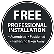 Free Professional In		stallation Logo