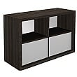 Gardena II Deco Combination Bookcase & Cupboard