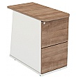 Parity Desk High Pedestals 2 Drawer Birch