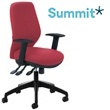 Summit Sculpt Synchro Fabric Task Chair