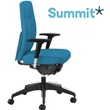 Summit Horizon Fully Upholstered Synchro Task Chair