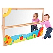 PlayScapes Large Pull Up & Play Toddler Mirror