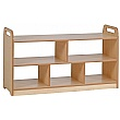 PlayScapes Extra Wide Open Storage Unit