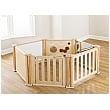 PlayScapes Toddler Play Enclosure 6 Panel Set