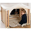 PlayScapes Toddler Play Cosy Mirror Den Set