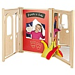 PlayScapes Role Play Theatre Stage Panel Set