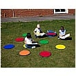 Rainbow Circle Outdoor Play Mats