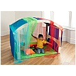 PlayScapes Folding Den With Rainbow Kit