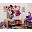 PlayScapes Wall Mounted Cloakroom Set