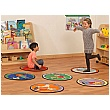 PlayScapes Set of 6 Exercise Mats