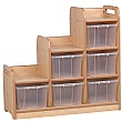 PlayScapes Stepped Storage Unit