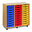 30 Tray Shallow Storage Unit