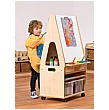 PlayScapes Easel Stand & Storage Trolley & Easel