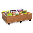 6 Bay Kinderbox Book Storage With Castors