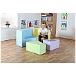 Transform Magnetic Linking Soft Seating Pastel Colours