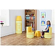 Crayon Magnetic Linking Soft Seating Yellow