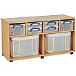Really Useful Box Combination Storage Unit 4 x 4L / 2 x 9L / 2 x 35L