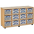 Really Useful Box Combination Storage Unit 12 x 4L / 6 x 9L