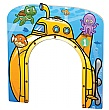 PlayScapes Giant Den Yellow Submarine Themed Door