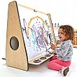 ColourEdge Low Whiteboard Floor Easel