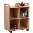PlayScapes 2 Column Shelf Storage Unit