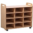 PlayScapes 3 Column Shelf Storage